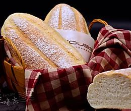【牛奶哈斯面包】——COUSS CO-545A电烤箱出品的做法