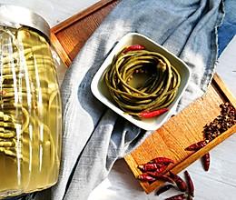 自制酸豇豆#炎夏消暑就吃「它」#的做法