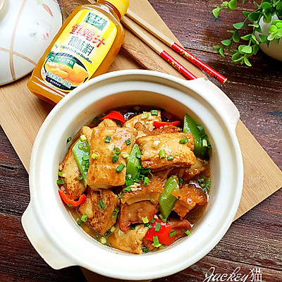 火腩豆腐煲