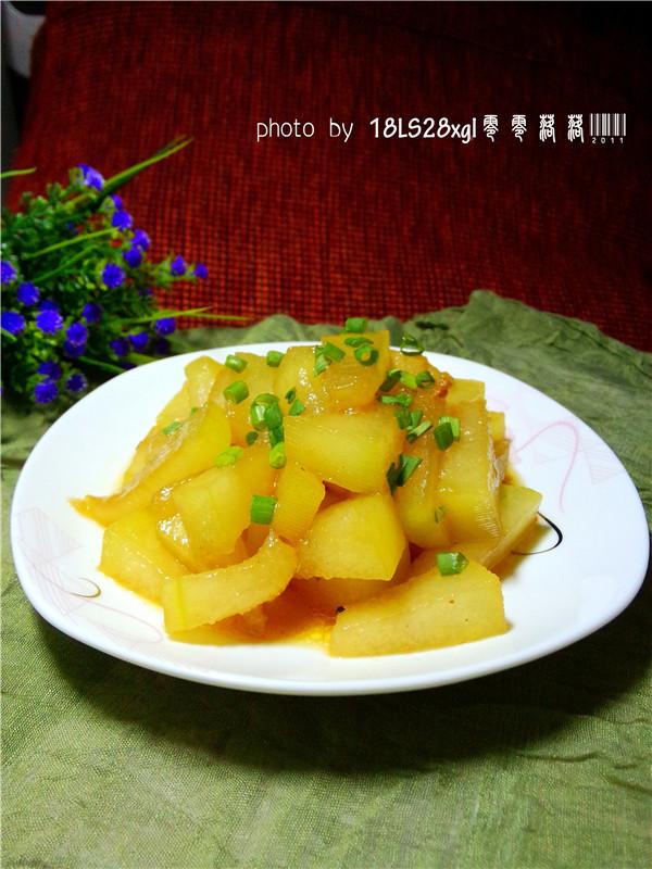 零脂肪:红烧冬瓜的做法