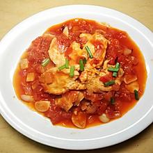 番茄炖鸡胸肉 | Lucky生活美食日记