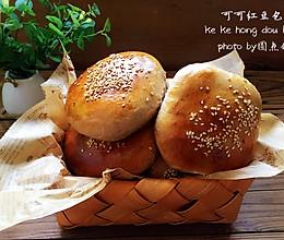 可可红豆面包的做法
