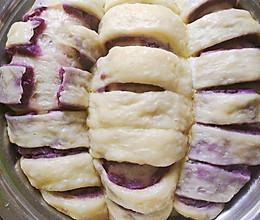 蒸出来的紫薯面包的做法