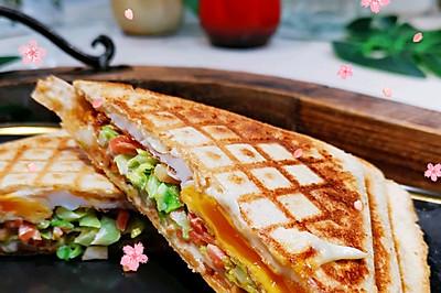 早餐三明治高蛋白❤️蜜桃爱营养师私厨