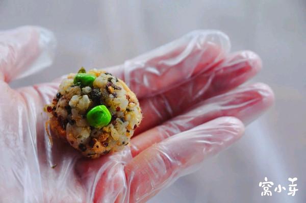 清明豌豆饭团