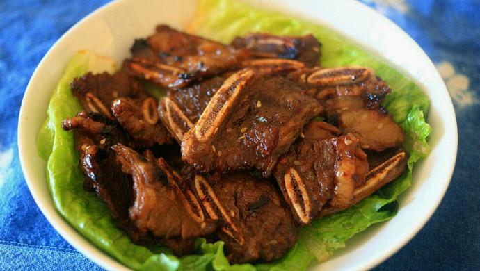 韩式烤牛小排(牛仔骨)