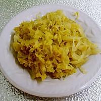 酸菜羊肉盖拌面的做法图解4