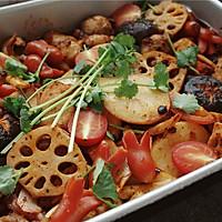 辣烤时蔬#松下烤箱烘焙盛宴#的做法图解15