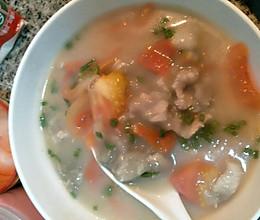 滑肉汤的做法