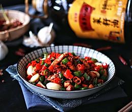 香辣干锅鸡丁#金龙鱼外婆乡小榨菜籽油 外婆的食光机#的做法