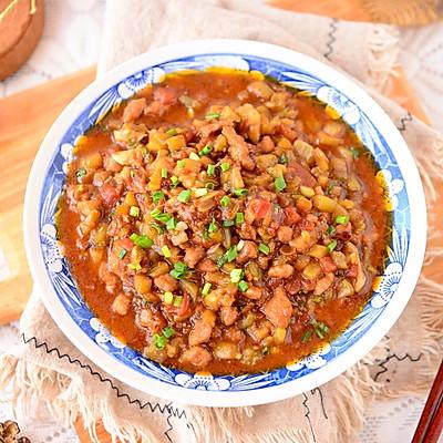 ㊙️茄子打卤面这样做,一口吃三大碗!