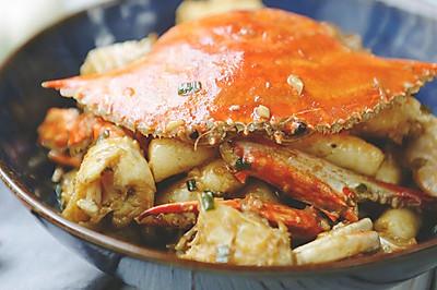 鱼肥蟹美的秋天,给高颜值海鲜梭子蟹疯狂打call!