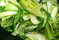 清炒油菜的做法