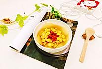 玉米雪梨甜汤的做法