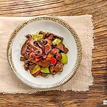 火腿炒牛肝菌|营养丰富