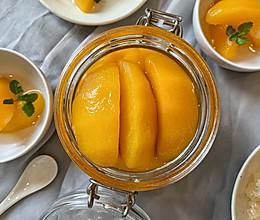 冰糖黄桃的做法
