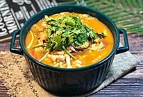 番茄鸡蛋海鲜菇汤的做法