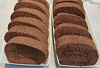 巧克力蛋糕卷朱古力蛋糕卷的做法