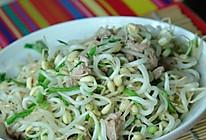 小炒绿豆芽的做法