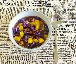 红豆紫薯芋圆(鲜芋仙)的做法