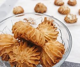 椰蓉黄油饼干(花纹不消失)的做法