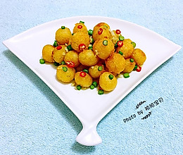 香酥黄金球#宴客拿手菜#的做法