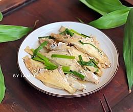#快手又营养,我家的冬日必备菜品# 姜葱剥皮羊鱼的做法