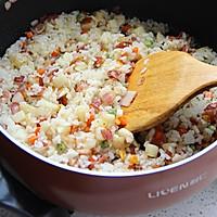 土豆培根炒饭--利仁电火锅试用菜谱的做法图解8