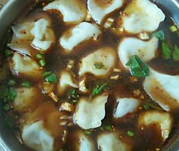 酸辣汤饺的做法