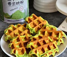 松软香甜华夫饼