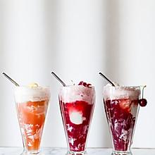 樱桃苏打水冰淇淋