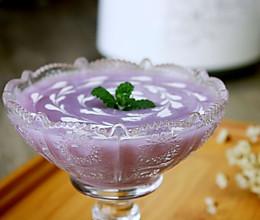 紫薯山药米糊#急速早餐#的做法