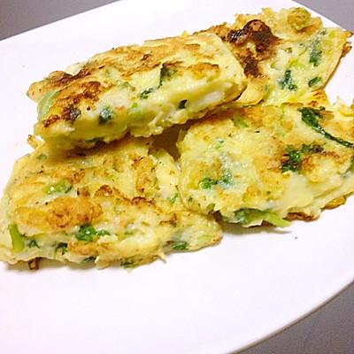 虾仁蔬菜厚蛋烧(宝宝辅食)