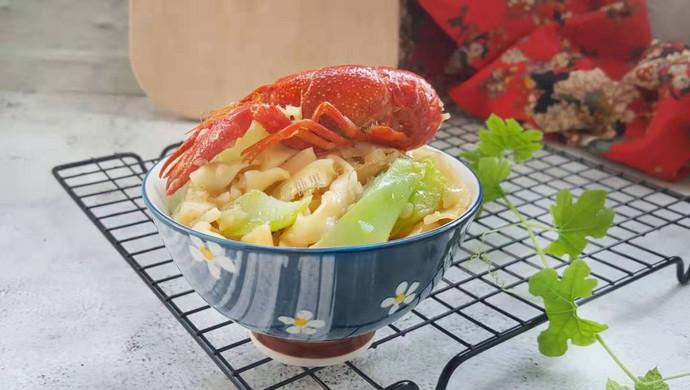 蒜香小龙虾焖面