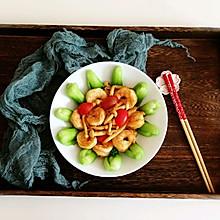 #花10分钟,做一道菜!#蘑菇虾仁青菜小炒
