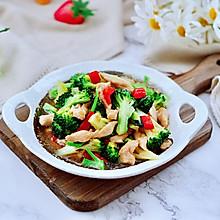 #快手又营养,我家的冬日必备菜品#西兰花溜鸡肉条
