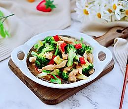 #快手又营养,我家的冬日必备菜品#西兰花溜鸡肉条的做法