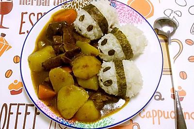 咖喱饭之熊猫吃翔