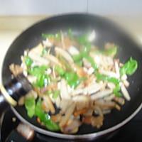 干煸五花肉杏鲍菇的做法图解8