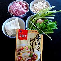 大喜大牛肉粉【试用之一】    牛肉粉鲜虾米馄饨的做法图解1