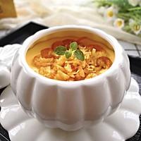 瑶柱虾米蒸水蛋的做法图解14