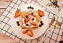 #新年开运菜,好事自然来#水果西多士的做法