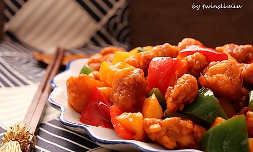 可以甩掉饭店几条街的美味菠萝古老肉#舌尖上的春宴#的做法