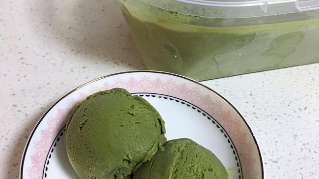 抹茶冰激凌的做法