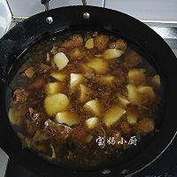 半片鸭炖土豆#樱花味道#的做法图解9