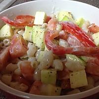【快手】低卡意粉蔬菜沙拉——不输味道的低卡做法的做法图解4