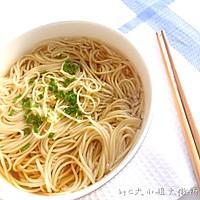 一碗朴素的葱油汤面的做法图解6
