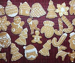 圣诞初体验之二-没有肉桂粉的姜糖饼干的做法