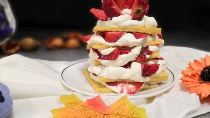 草莓蛋糕塔
