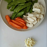 爽脆小炒-荷兰豆炒马蹄的做法图解2